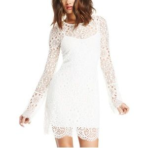 FOR LOVE & LEMONS LOVEBIRD LACE DRESS S